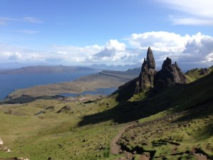 View from The Old Man of Storr (Skye)