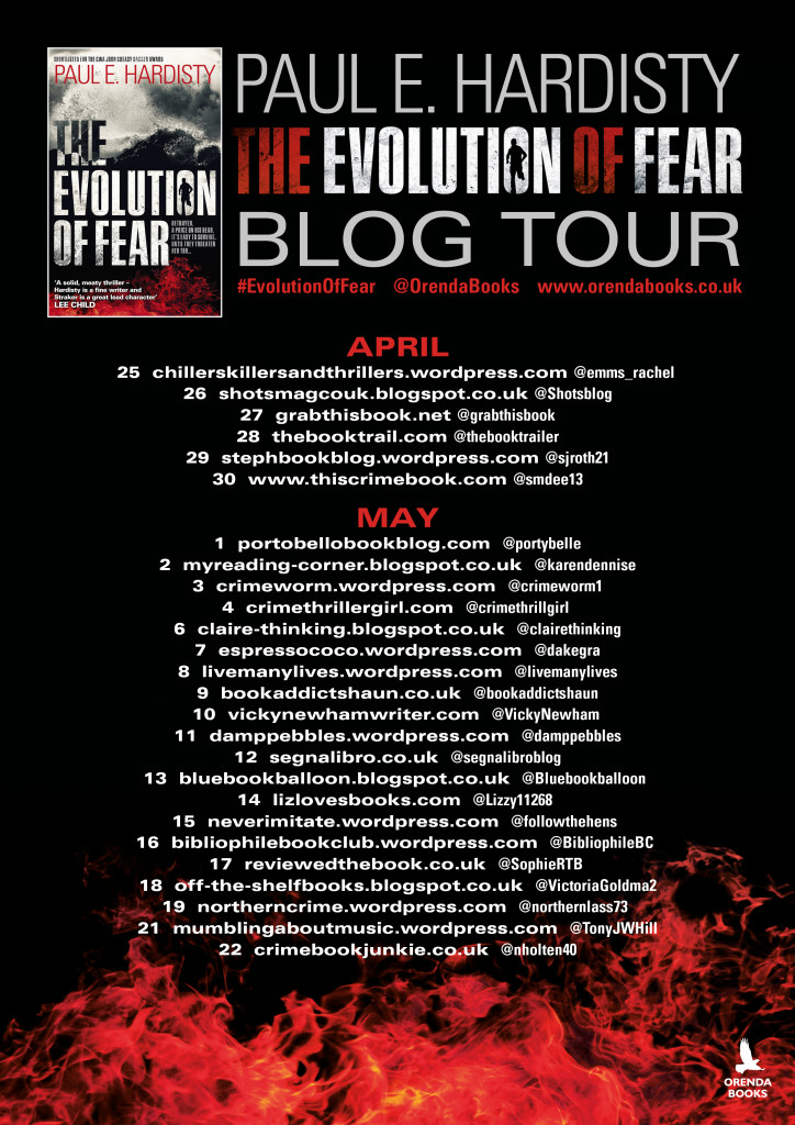 Evolution of Fear Blog tour