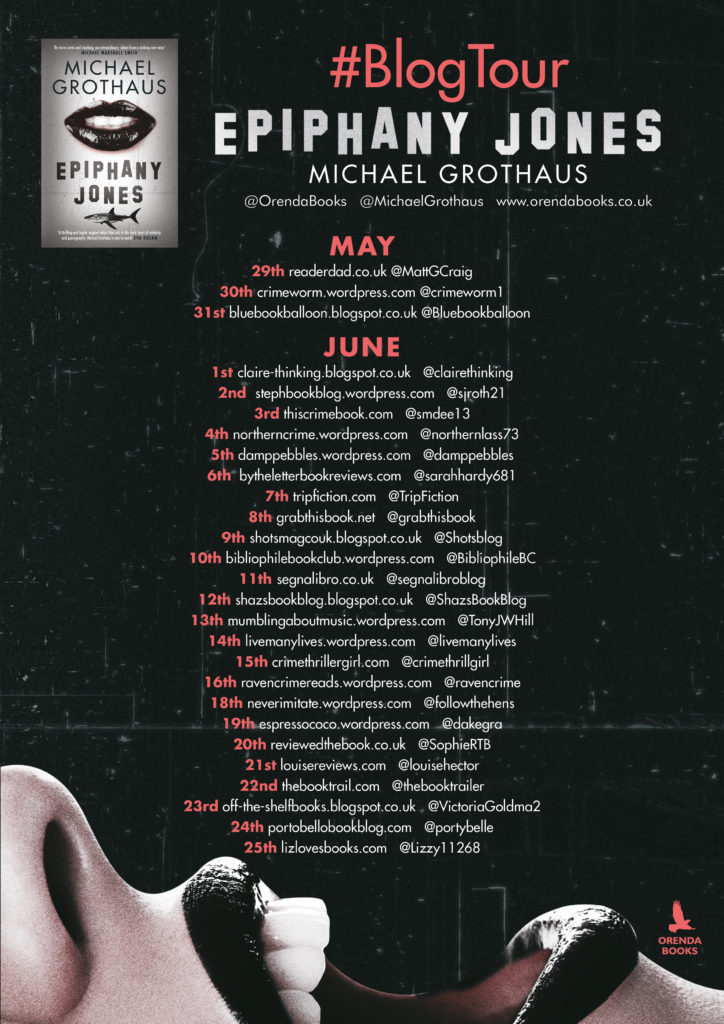 Epiphany Jones Blog tour