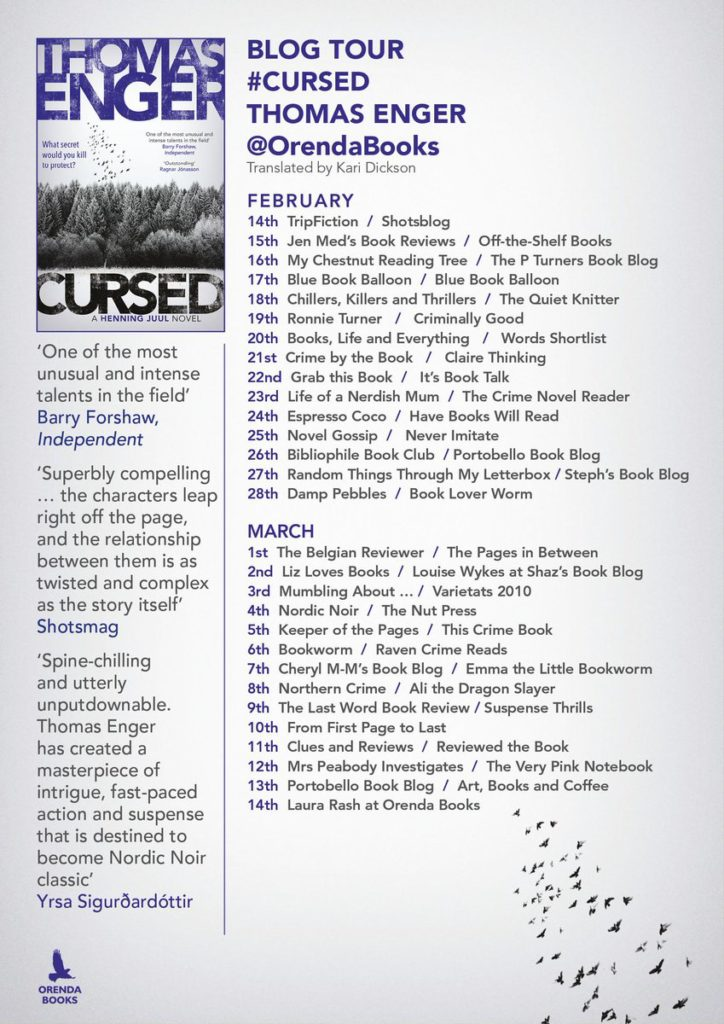 Cursed blog tour