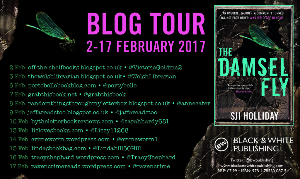 Damselfly Blog Tour