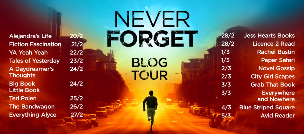 Never Forget blog tour 4