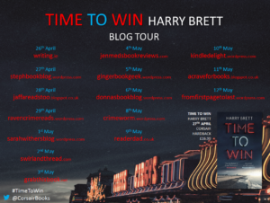 Time To Win blog tour banner
