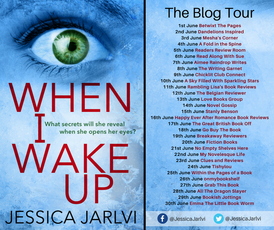 When I Wake Up - blog tour banner